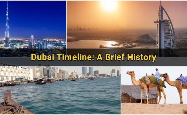 Dubai Timeline A Brief History Dubai Ofw