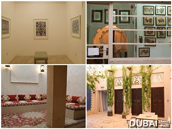 xva art gallery courtyard