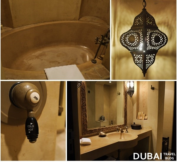 bathtub bab al shams resort dubai
