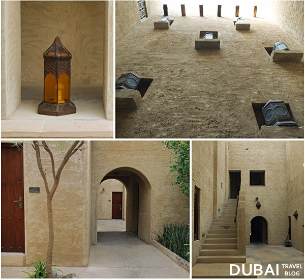 courtyards in bab al shams arabia