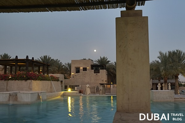 night pool bab al shams