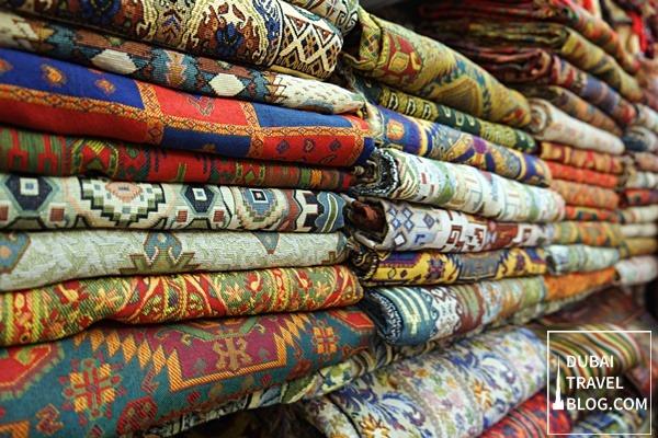 Textile Souk In Bur Dubai Deira Creek Side Dubai