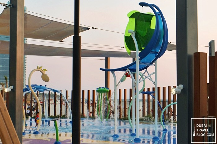 splash pad jumeirah open beach residence