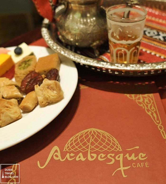 arabesque cafe arjaan