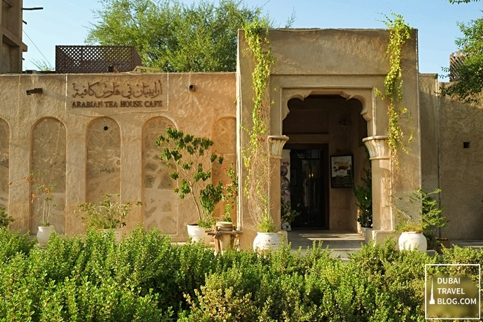 dubai arabian teahouse
