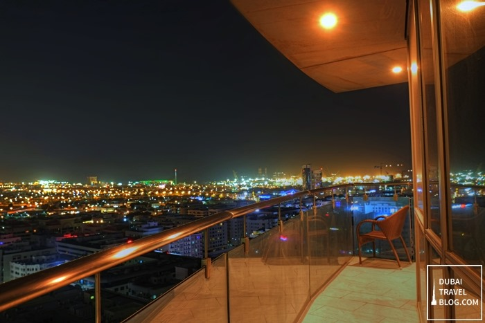 17 photos of dubai from a balcony in burjuman arjaan by for Balcony at night