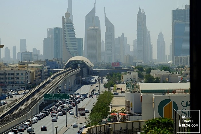 view of dubai from burjuman