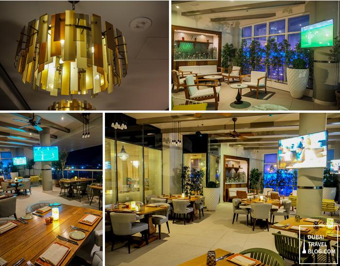 terrace of al maeda restaurant dubai
