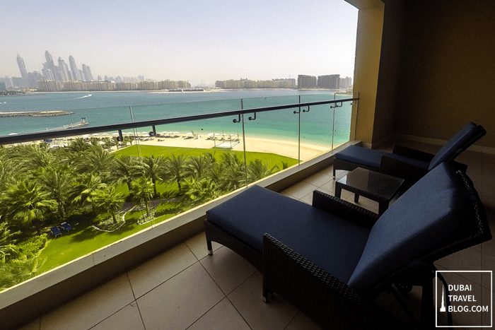 rixos the palm hotel resort balcony