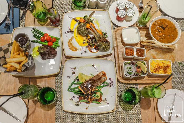 Dinner At The Garden Grille In Hilton Garden Inn Moe Dubai Travel Blog