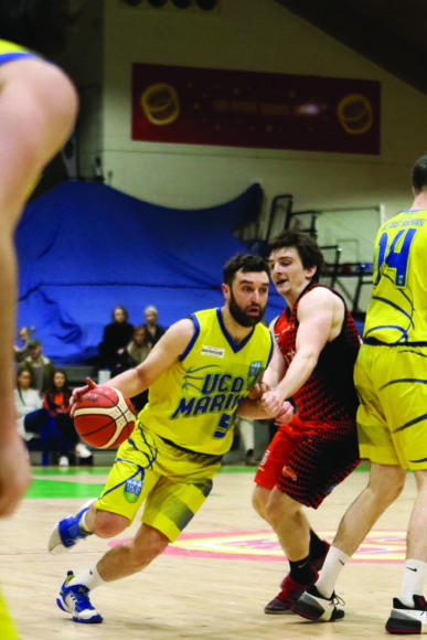 Three's the magic number for basketball in Dundrum ...