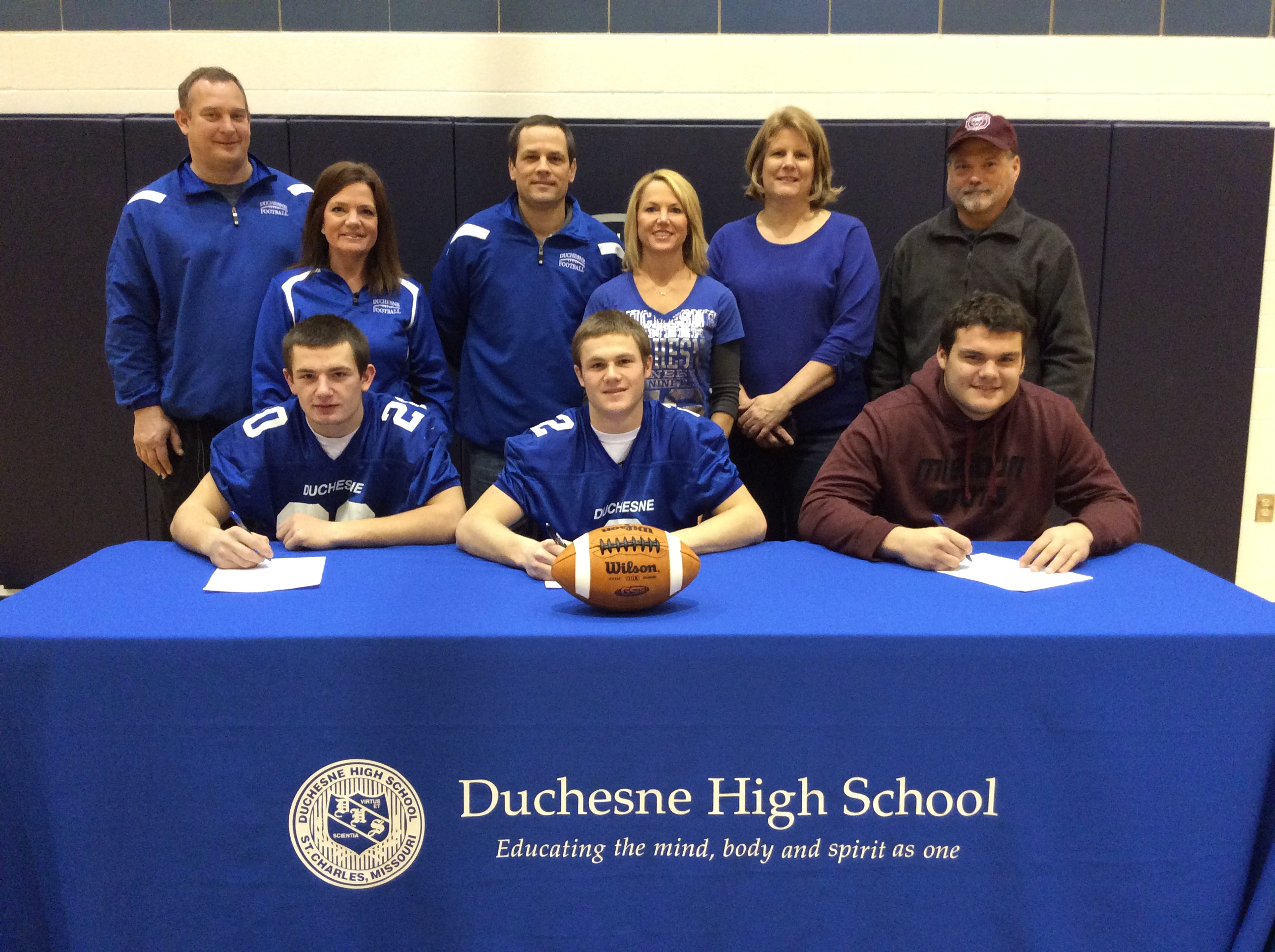 Duchesne High School House Raffle Duchesne High School National Signing Day