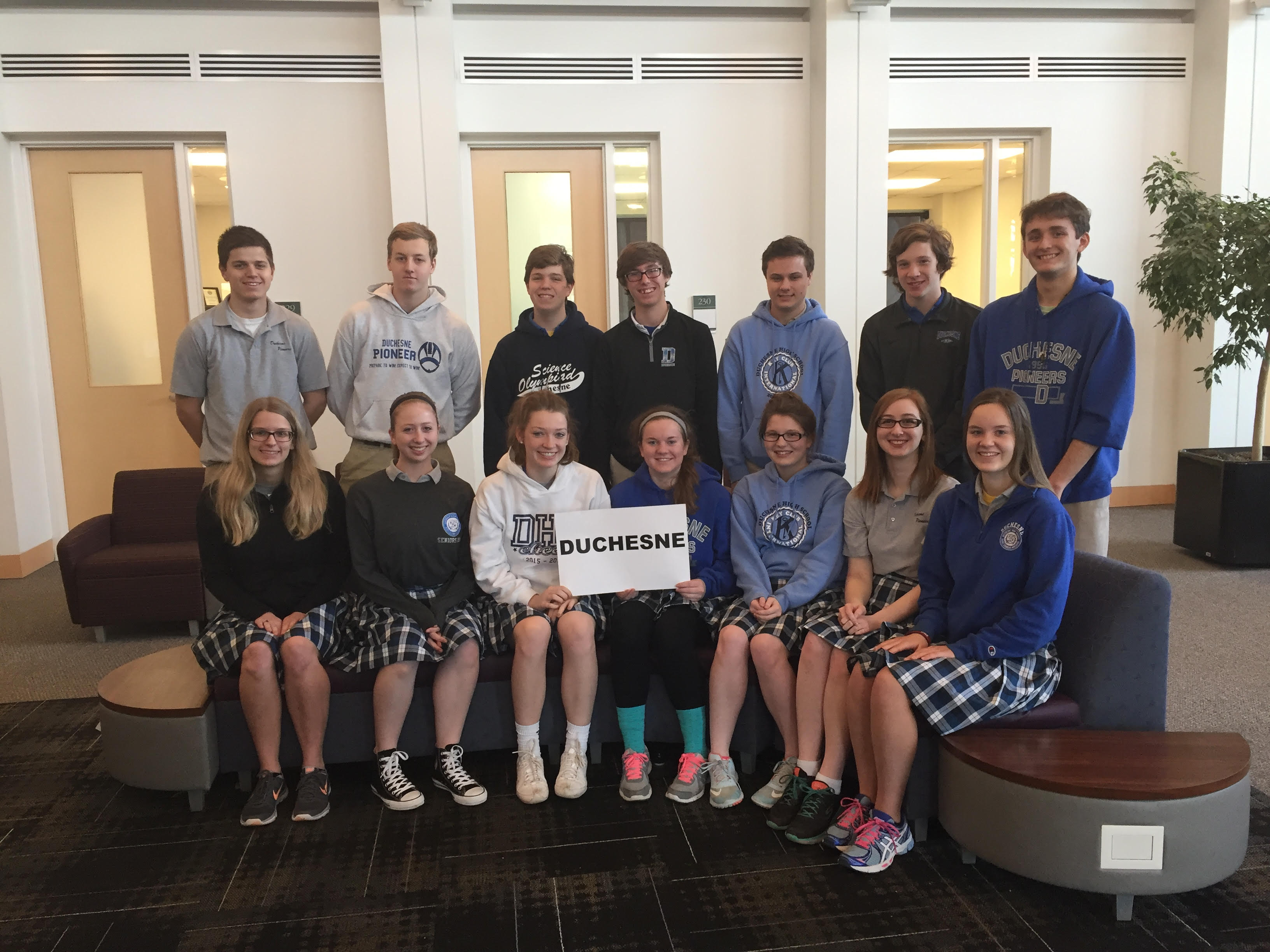 Duchesne High School House Raffle Duchesne High School Wyse Regional Winners