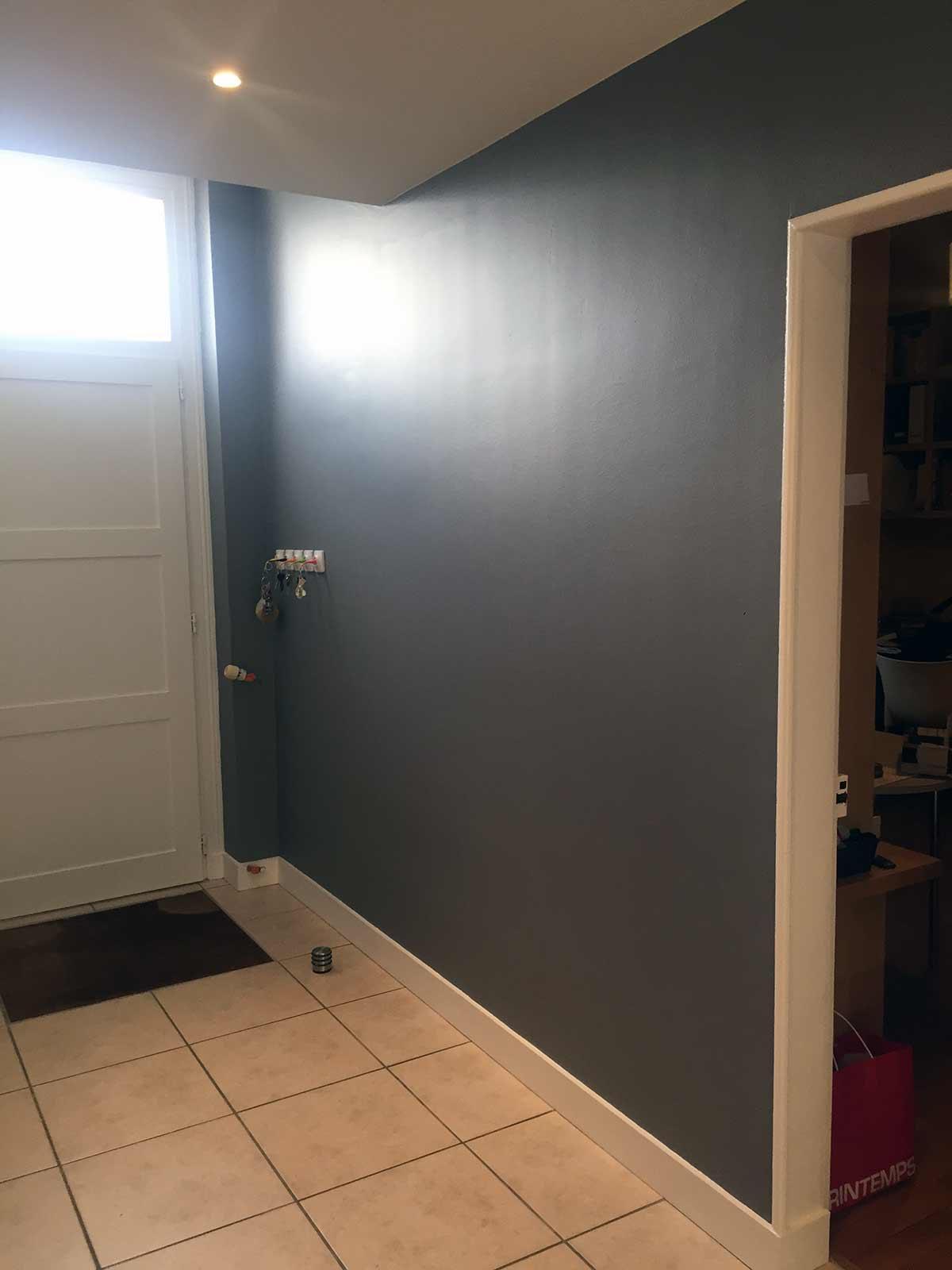 Peinture Entrée Couloir | Quelle Couleur De Peinture Pour Un Couloir ...