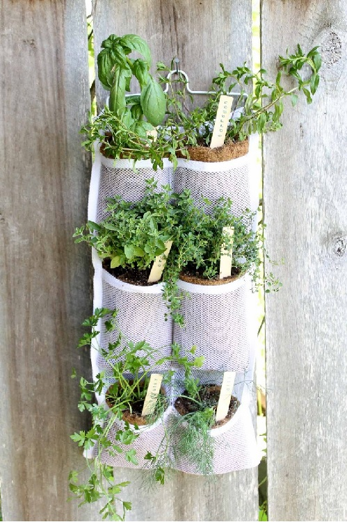 how to make a hanging garden by Country Chic Cottage