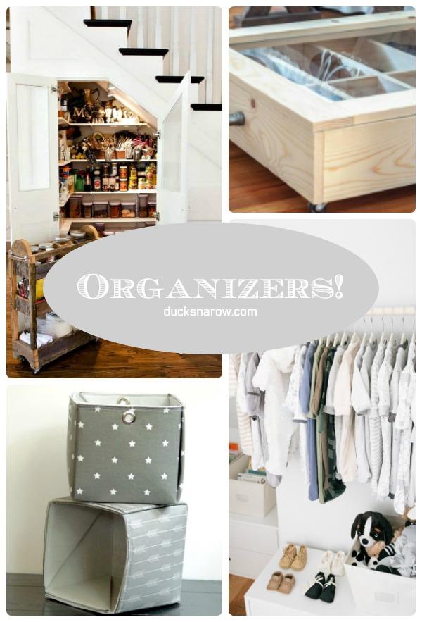 The organizers that make organizing FUN! #tips