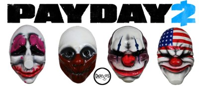 Duclos Toys | Action Figures | Collectibles | Geek Toys » Payday 2 – Masques officiels