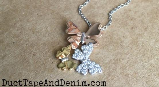 Butterfly Necklace | DuctTapeAndDenim.com