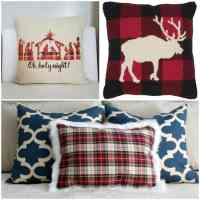 26 Plaid Pillows to Make or Buy to Add Christmas Color in ...