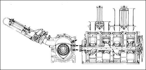 schema moteur mazda