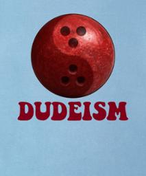 dudeism 3d bowling ball