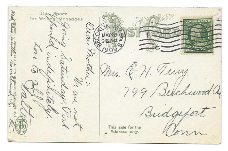 Large Of Addressing A Postcard