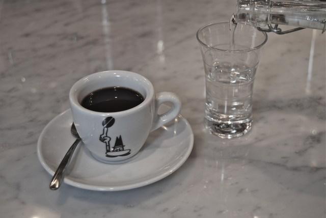 Caffè corretto alla grappa