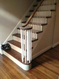Wood Stair treads | duffyfloors
