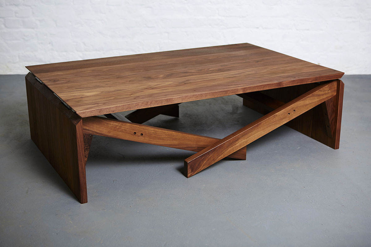 Coffee Table And Dining Table In One Mk1 Transforming Coffee Table Wood Duffy London