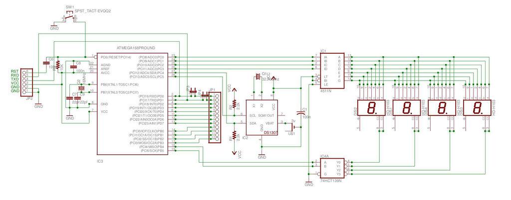 Arduino Seven Segment Display Wiring Diagram Schematic Diagram