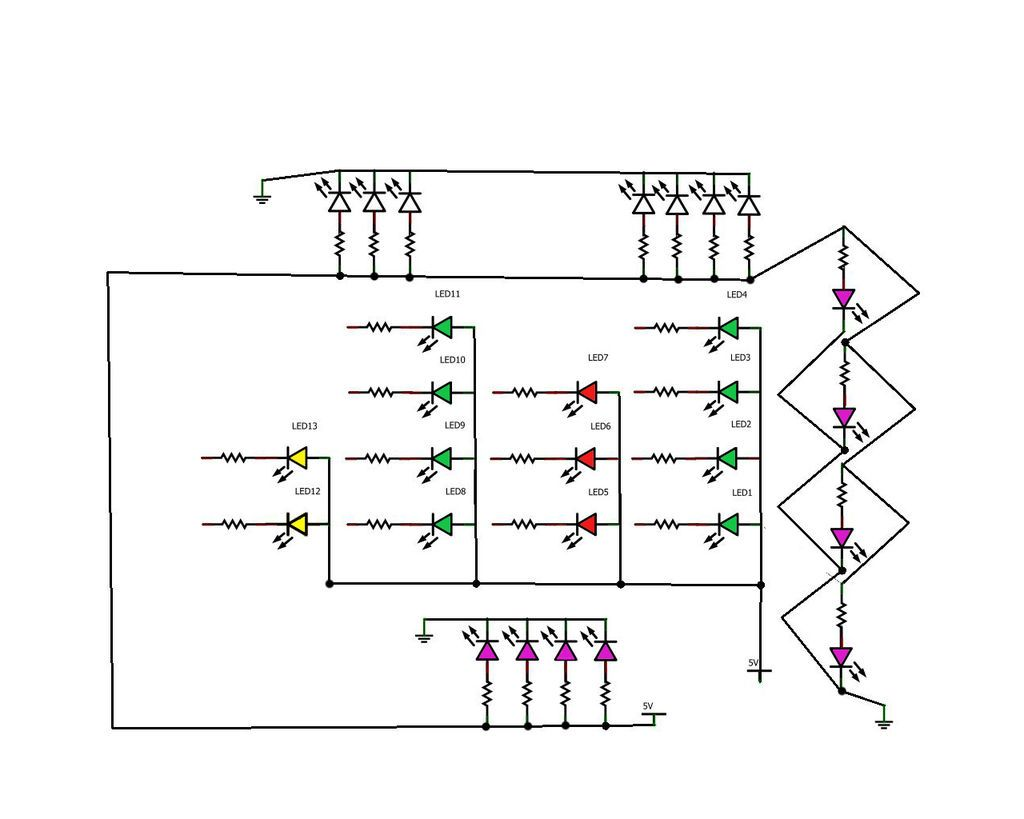 binary clock circuit