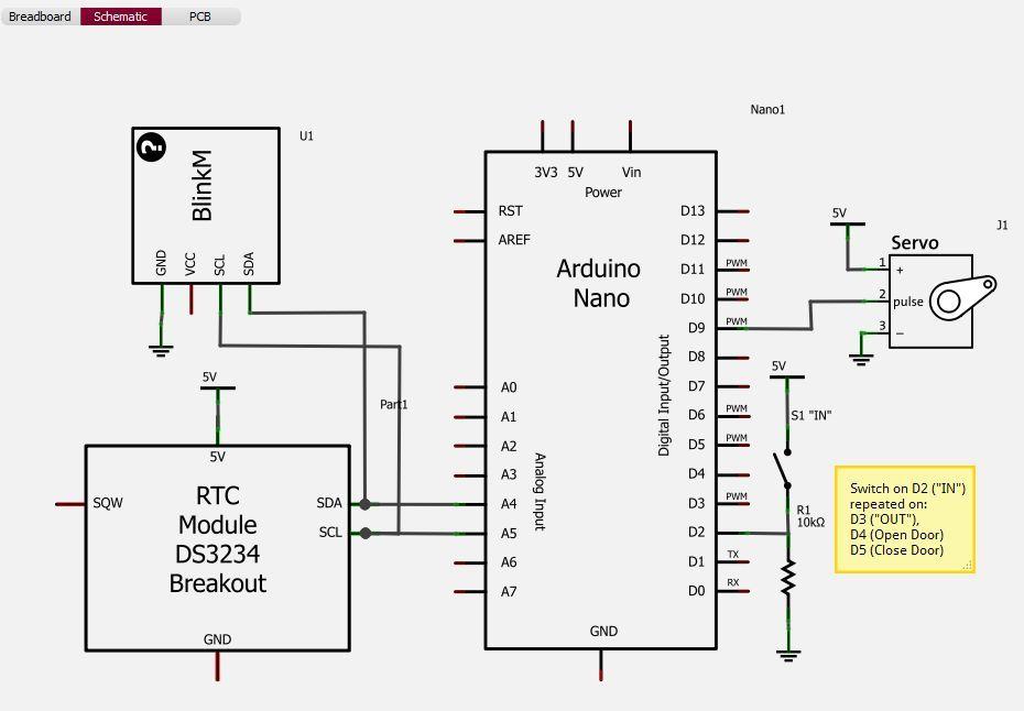 wiring arduino nano