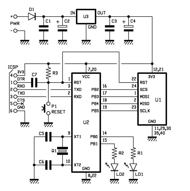 wireless usb adapter schematic