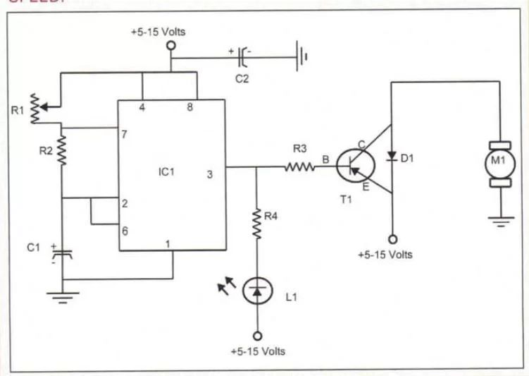 motor speed controller circuit