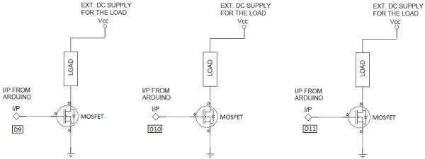 arduino pwm led control