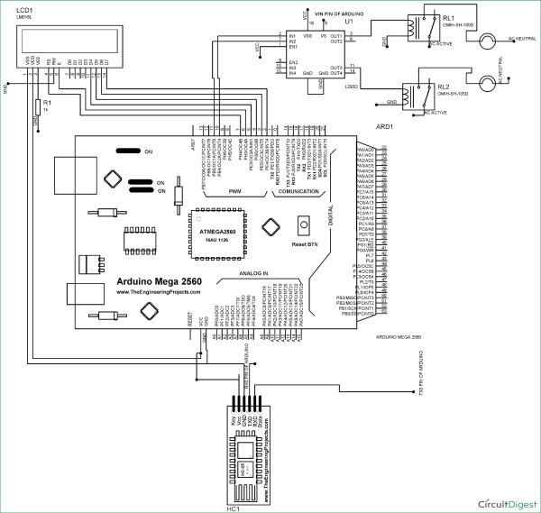 arduino home automation smart