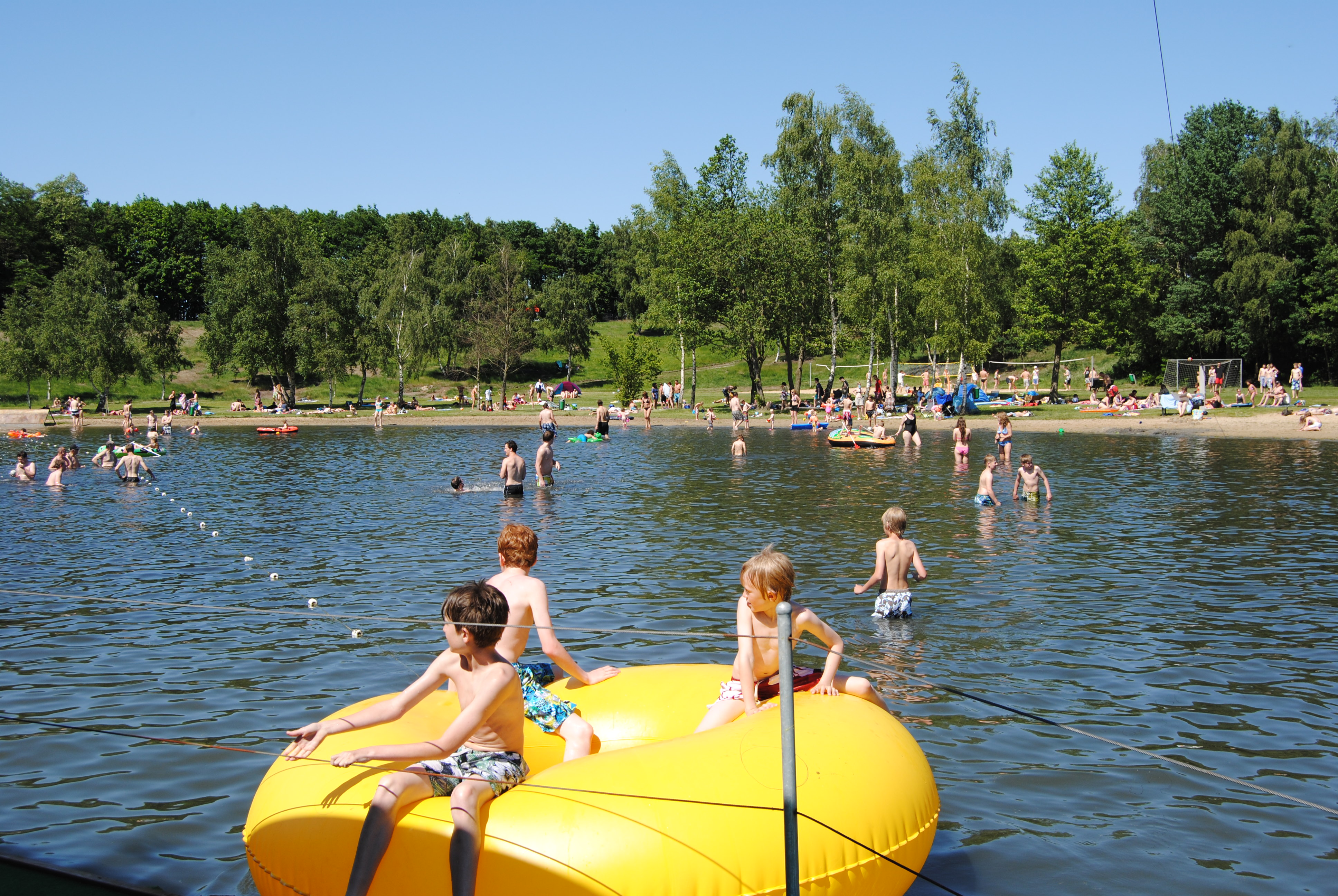 Groot Zwembad Grens Duitsland Camping Duitsland Met Zwembad Duitsland Campings