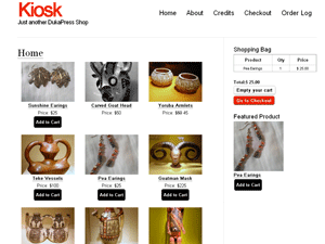 Kiosk WordPress & DukaPress Shopping Theme