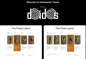 Kalamazoo WordPress & DukaPress Theme