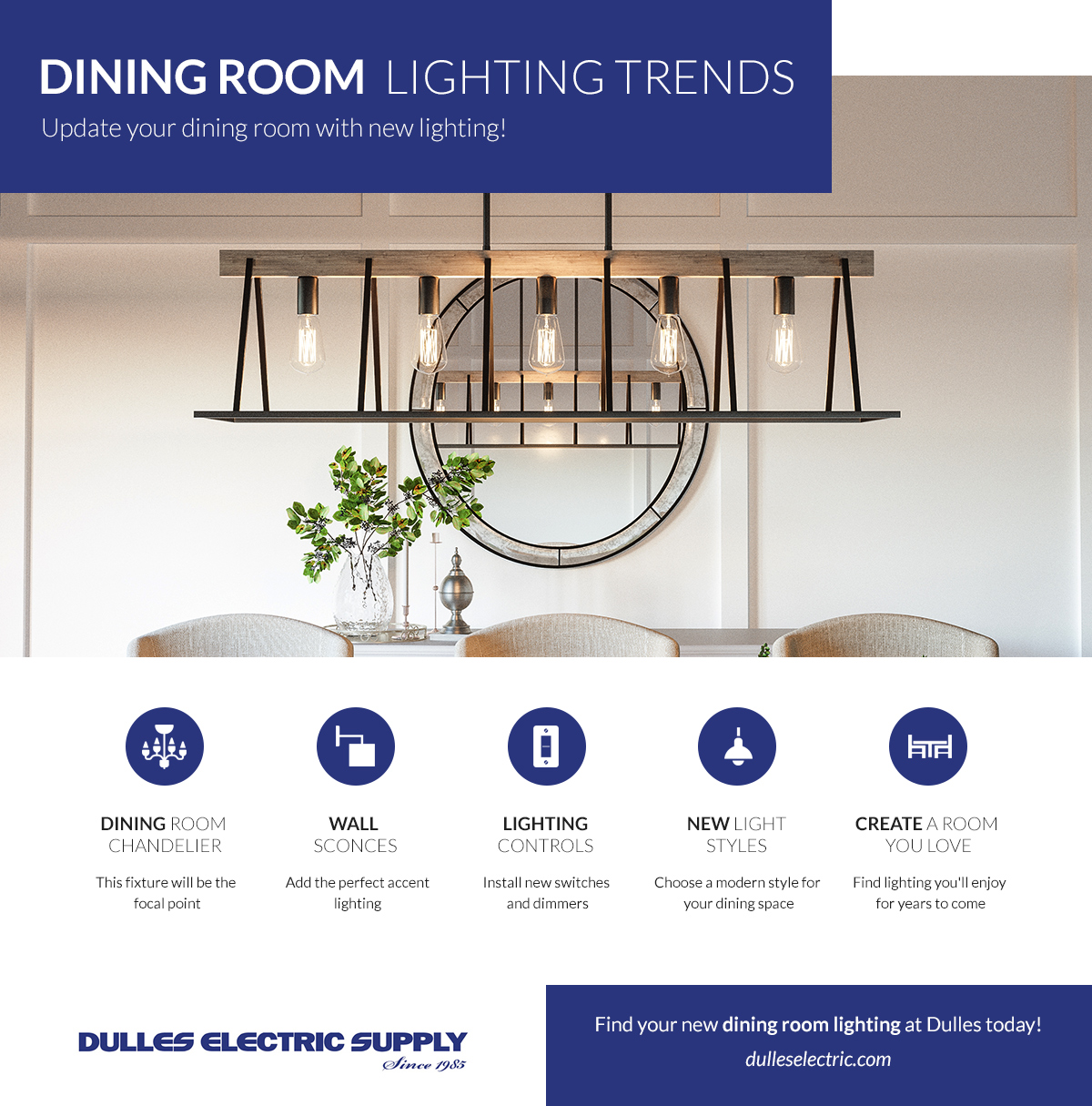 Dining Room Lighting Sterling Discover The Latest Trends And Styles