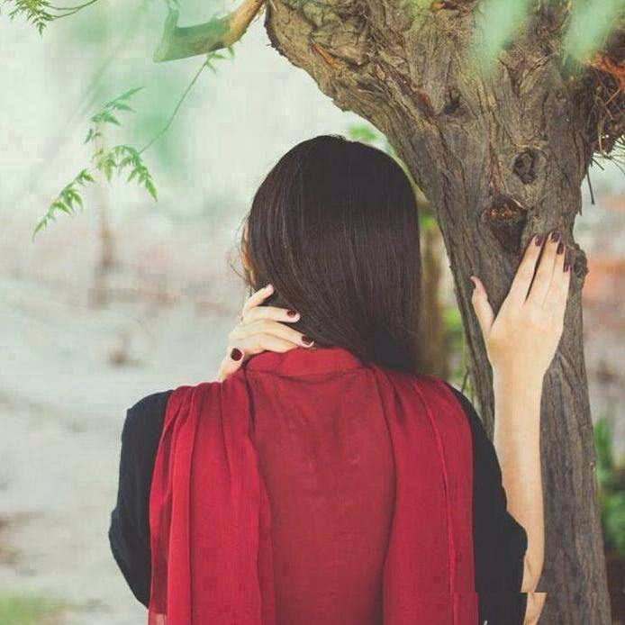 Simple Girl Wallpaper Pakistani Red Dress Girl Dp