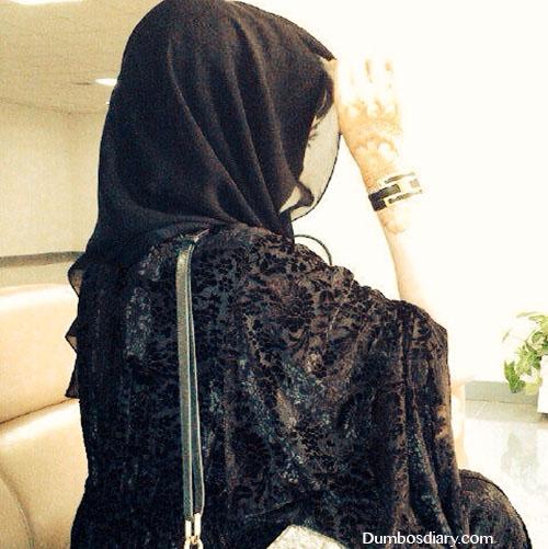 Stylish Girl With Guitar Wallpapers Black Abaya Muslim Girl Dp