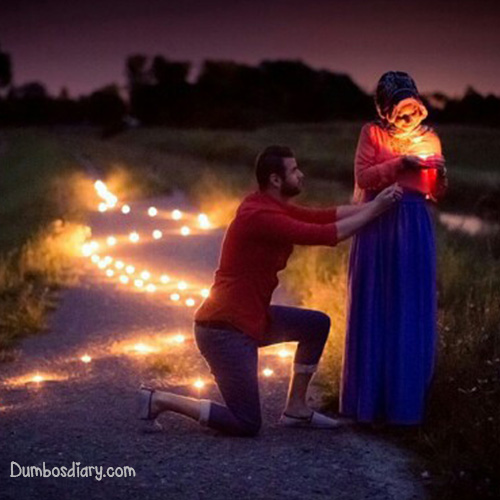 Cute Islamic Couples Hd Wallpapers Cute Couple In Night