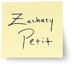 Zac Petit Website Designed by Jess Boonstra