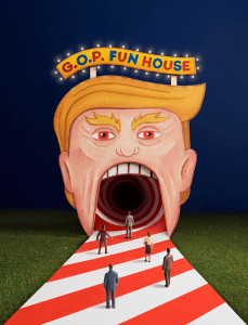 Stefan Sagmeister GOP Design for NY Times