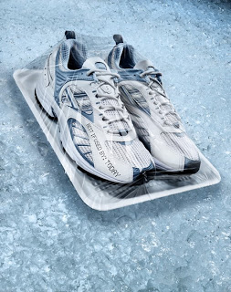Plastic Wrap and Running Shoes