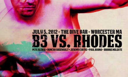 Dive Thursday Poster Rhodes vs. B3