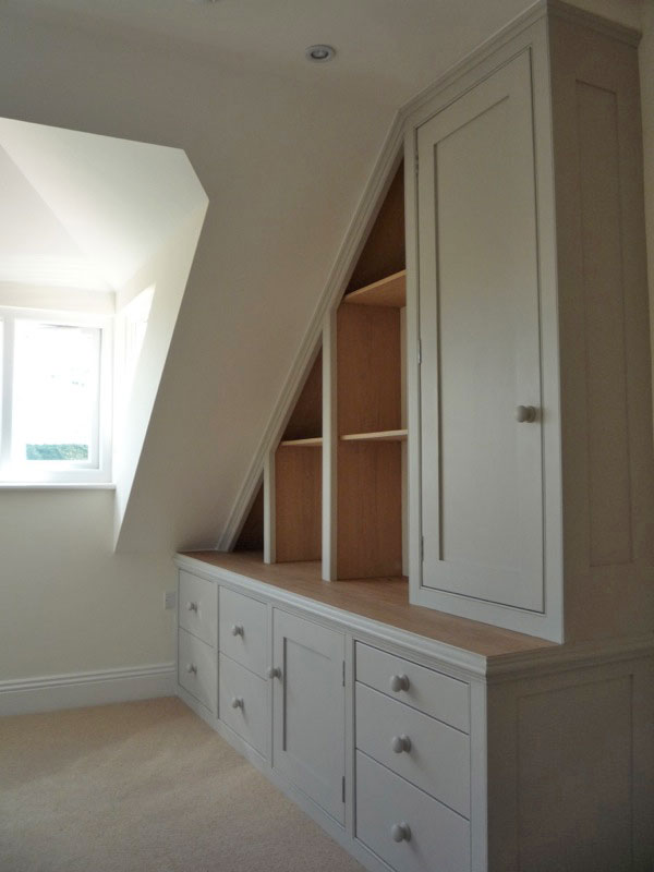 Wardrobe Furniture Furniture - Attic And Under Eaves Cupboards - Dunham
