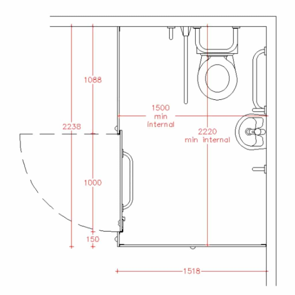 Toilette Dimension Toilet Cubicle Sizes And Dimensions Dunhams Washroom Systems