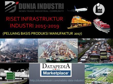 """<span itemprop=""""name"""">Riset Infrastruktur Industri 2015-2019 (Peluang Basis Produksi Manufaktur 2017)</span>"""